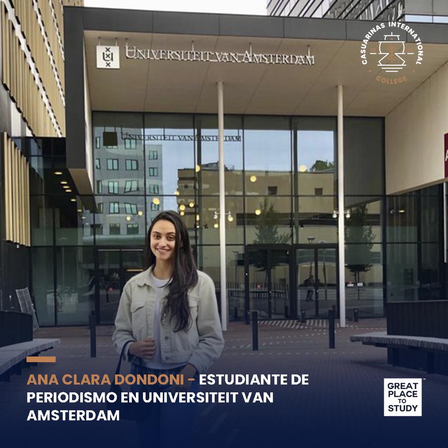 ORGULLO CIC: Ana Clara Dondoni